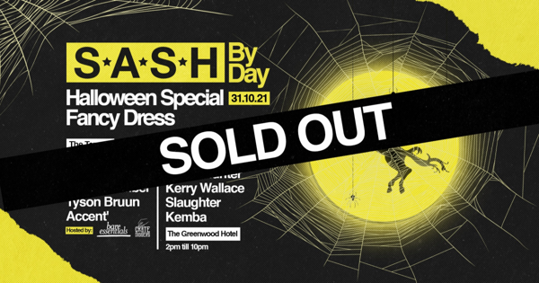 S*A*S*H By Day - Halloween Special Full | Fancy Dress tickets