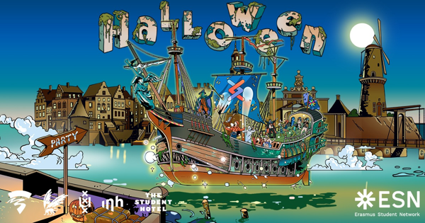 Halloween Amsterdam - Boat Party tickets