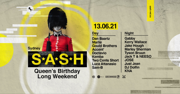 S*A*S*H by Day & Night tickets